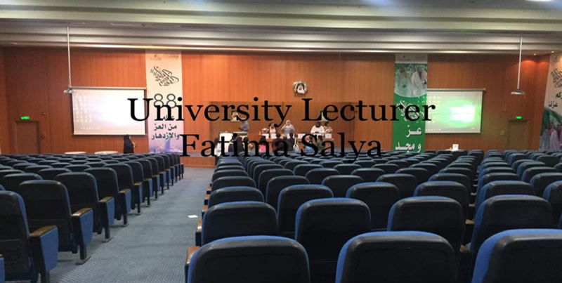 Fatima Salya - University Lecturer