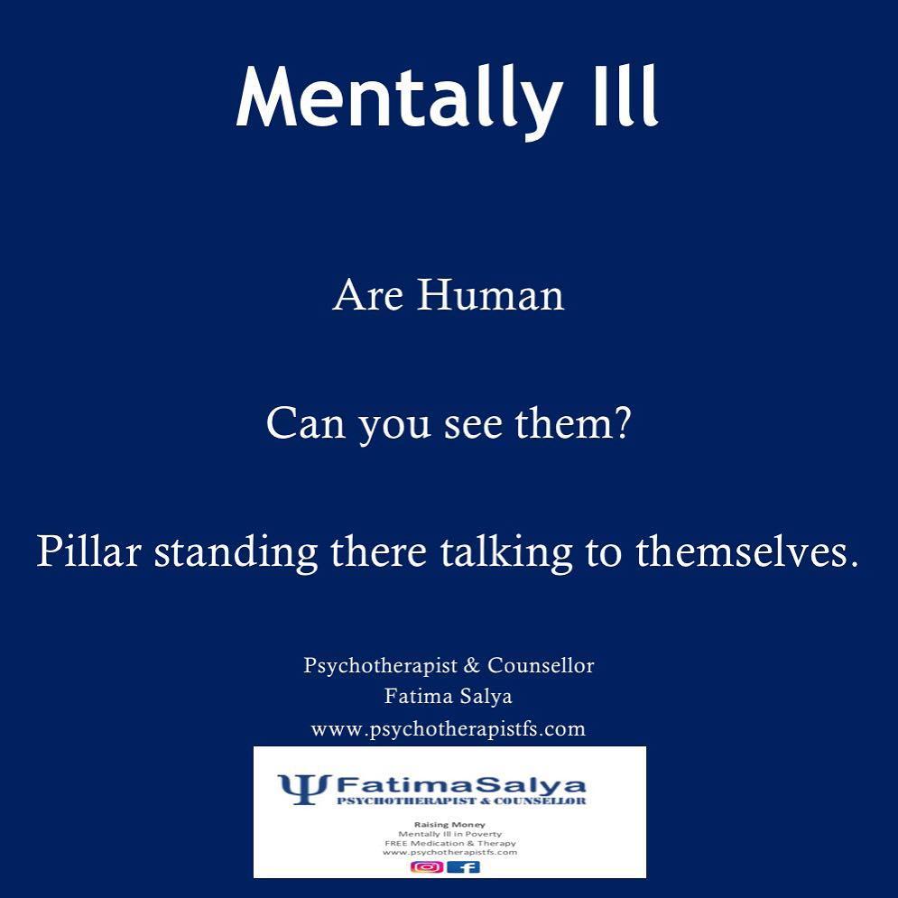Mentally Ill Are Human!