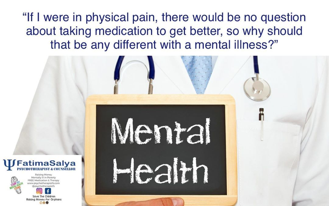 Why should it be different for mental illness?