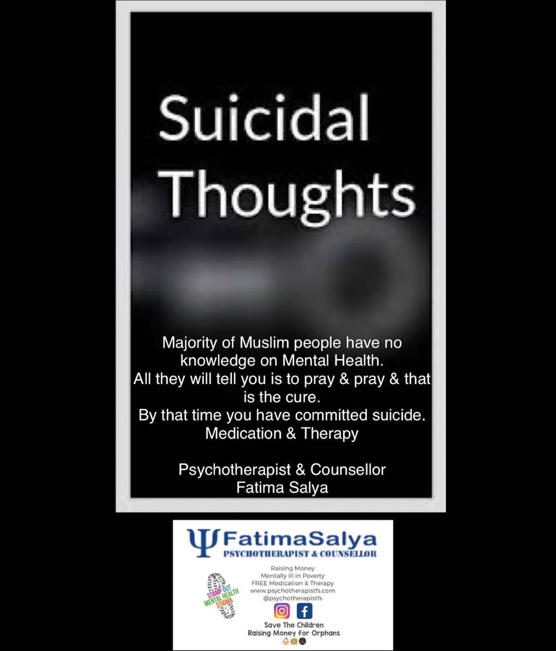 Suicidal Thoughts?